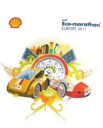 AFFICHE  SHELL ECO MARATHON EUROPE 2011